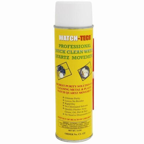 Quartz Watch Movement Cleaner Spray Quick Clean 13 oz - Made in USA