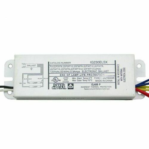 Inter-Global IG230ELSX Electronic Ballast 120v