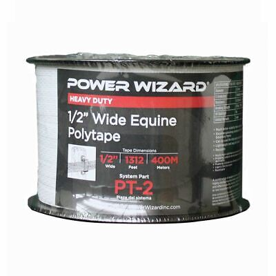 Agratronix Poly-tape 12in Wide 1312ft400m Electric Fence Pt-2