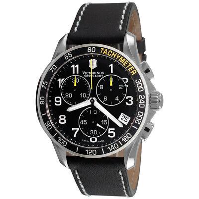 Victorinox Swiss Army Men's 241316 Chrono Classic Chronograph Black Dial Watch