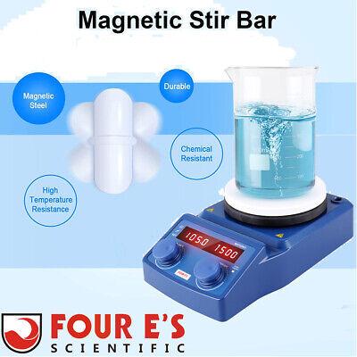 110v Magnetic Stirrer With Heating Plate Digital Hotplate Mixer Stir Bar 5000ml