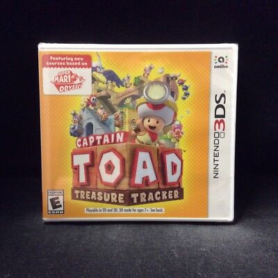 Captain Toad  Treasure Tracker  Nintendo 3Ds  2018  Brand New   Us Version