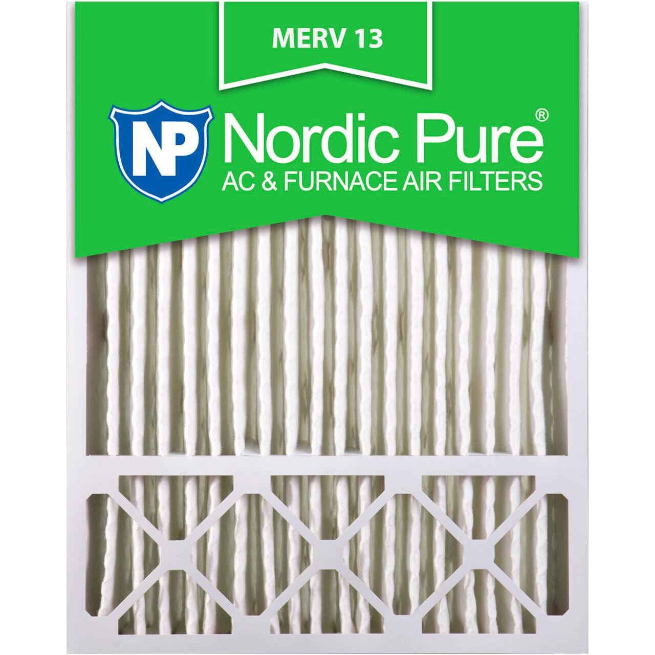 20x25x5 4 air filter furnace merv 13