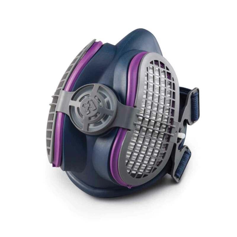 Miller ML00894 LPR-100 Half Mask Respirator with Filters Small/Medium