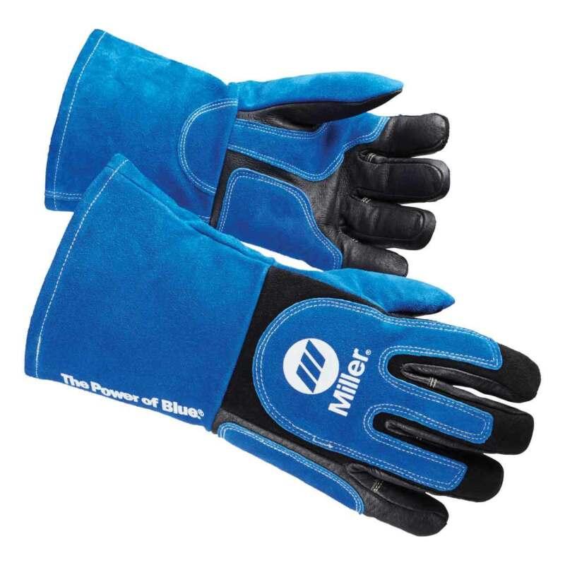 Miller 263339 Heavy Duty MIG/Stick Welding Glove, Large