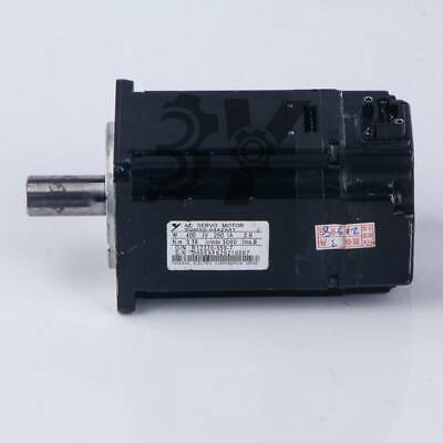 1pcs Used Yaskawa Servo Motor Sgmas-04a2a41 400w Tested