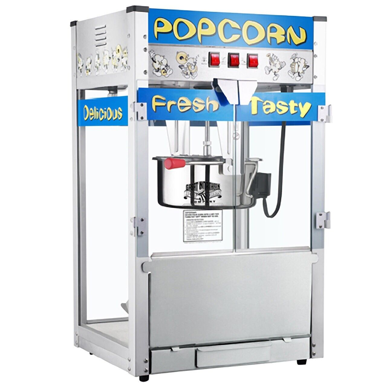 Great Northern Pop Heaven Commercial Quality Popcorn Popper