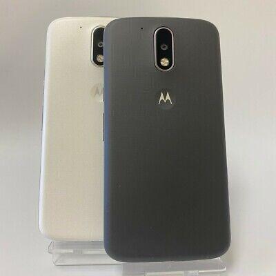MOTOROLA MOTO G4 16GB DUAL-SIM -Black / White - Unlocked Smartphone Mobile Phone