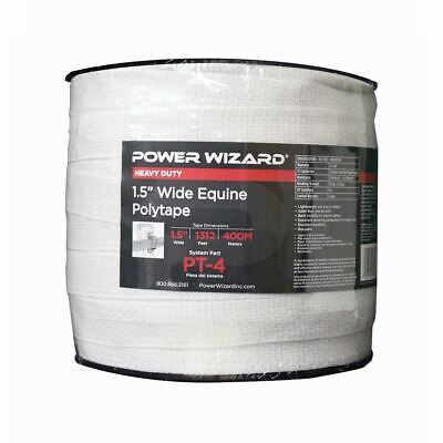 Agratronix Poly-tape 1.5in Wide 1312ft400m Electric Fence Pt-4