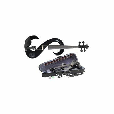 Stagg 4/4 Silent Violinen Juego Con Softcase, Arco, Auriculares, Colofonia, Etc