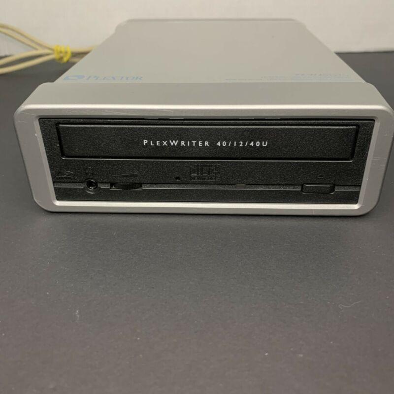 Plextor - PX-W4012TU - CD-RW Drive - USB/Data - 40/12/40u - Tested - CD Drive