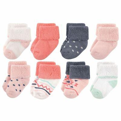 Luvable Friends Girl Socks, 8-Pack, Girl Aztec