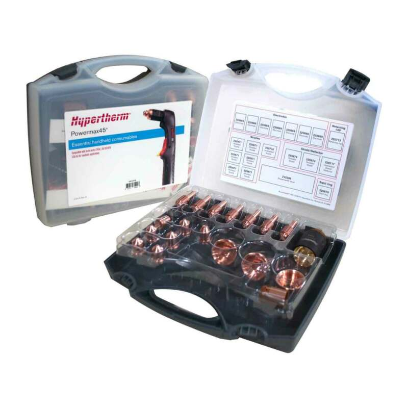 Hypertherm 851478 Consumable Kit Powermax45 Essential Handheld 45 A CSA Cutting