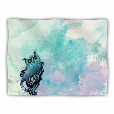 KESS InHouse Graham Curran Owl II Pet Blanket, 40 by 30-Inch