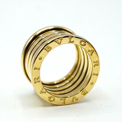 BVLGARI B.ZERO1 5 BAND 18K Yellow Gold Ring Size 50  (USA 5.5 ) (Bvlgari Usa)