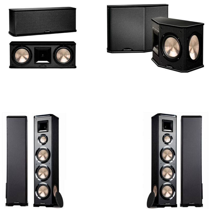Bic Acoustech Pl-980 5.0 Home Theater System