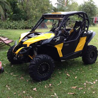 2014 Canam maverick xrs dps 1000cc buggy Lammermoor Yeppoon Area Preview