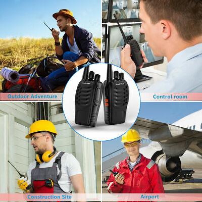2Pack Baofeng BF-888S UHF Handheld CTCSS HT Two-way Radio Ham Walkie Talkie