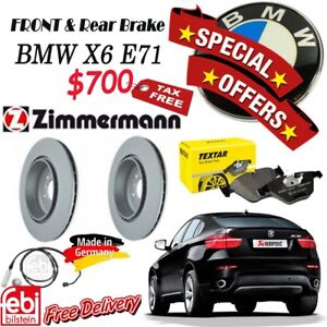 SPECIAL OFFER for Brake Set Package- BMW- X6 E71