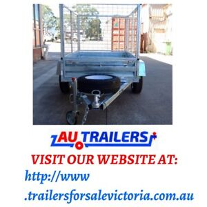 7x5 brand new with cage trailers sale