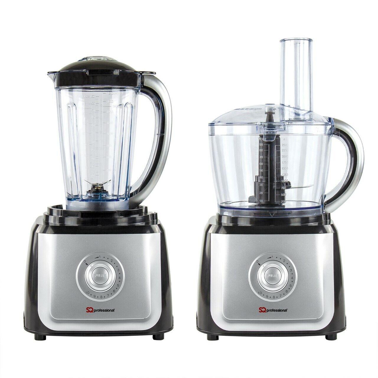 2-In-1 Blender 1.5L  Food Processor Juicer Chopper Smoothie