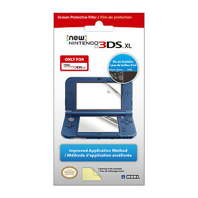 HORI FOR THE NEW NINTENDO 3DS XL SCREEN Defensive FILTER, NEW AND FREE SHIPPING