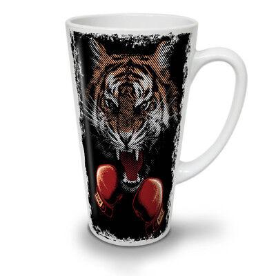 Tiger Boxer Gloves NEW White Tea Coffee Latte Mug 12 17 oz   Wellcoda](White Tea Gloves)