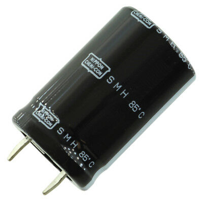 United Chem-con Smh Snap-in Capacitor 47000 Uf 25 Vdc 35mm X 63mm