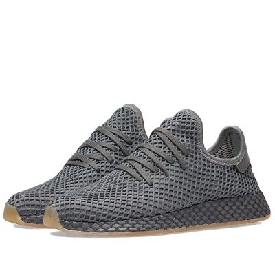 Genuine Adidas deerupt size 6 Grey Runners New with Box and tags attached