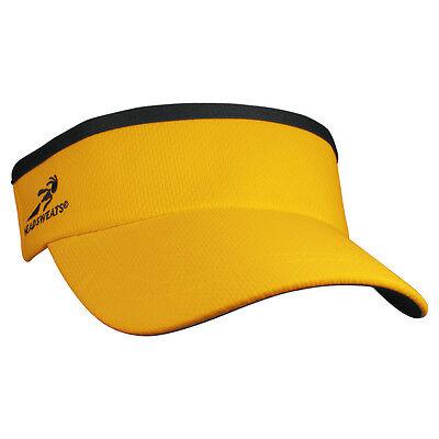 Brand New Headsweats Supervisor Running FItness Sports Hat Cap Visor, Yellow