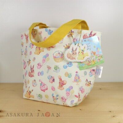 Pokemon Center Original Easter Garden Party Mini Tote Bag Pi