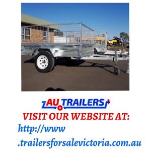 7x5 trailers bran donee tyres for sale with cage