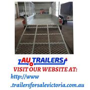 8x5 Ramp Tandem Trailer Heavy Duty Fully welded 600MM Cage Noble Park North Greater Dandenong Preview