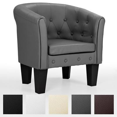 HOMELUX Chesterfield Sessel Lounge Couch Sofa Büro Möbel Clubsessel Bar Stuhl