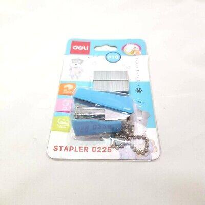Deli Mini Stapler Staple Portable Easy Paper-binding Office School Travelling