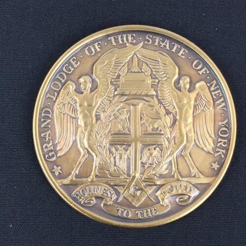Rare Masonic Grand Lodge NY New York Coin Medal 1781 Mason Freemasons