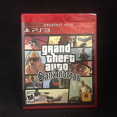 Rockstar Gta Grand Theft Auto: San Andreas (playstation 3...