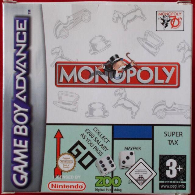 Nintendo Gameboy Advance - GBA ► Monopoly ◄ OVP