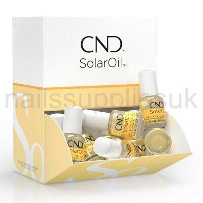 CND Solar Oil 3.7mL Nail & Cuticle Care Conditioner SolarOil Mini Travel Size