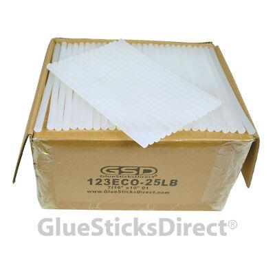 "Economy Hot Melt Glue Sticks 7/16"" X 10"" 25 lbs bulk"