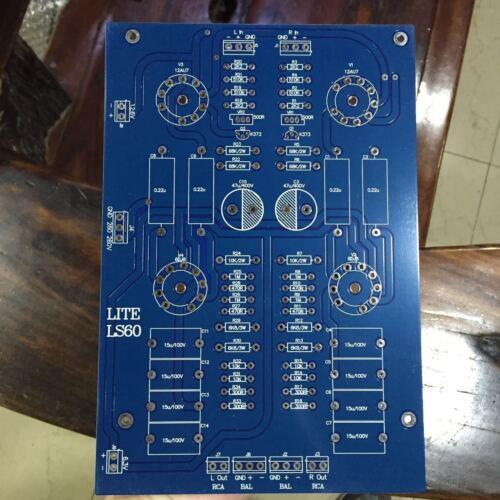 6DJ8/6922+ 12AU7 Tube Preamp Preamplifier PCB Single-ended B