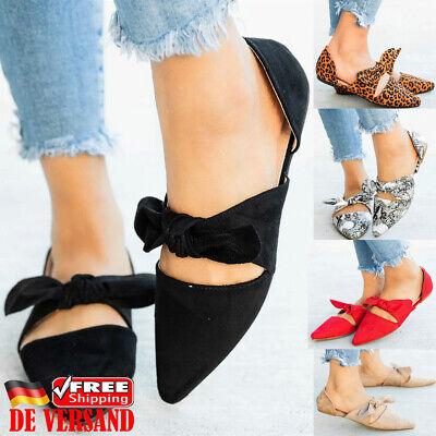 lbschuhe PU-Leder Ballerinas Slipper Wing-tip Schuhe Loafer (Damen Wingtip Schuhe)