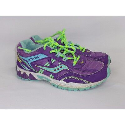 af9656dc209 Saucony Excursion Youth running shoes 3.5M Purple SY53186K14