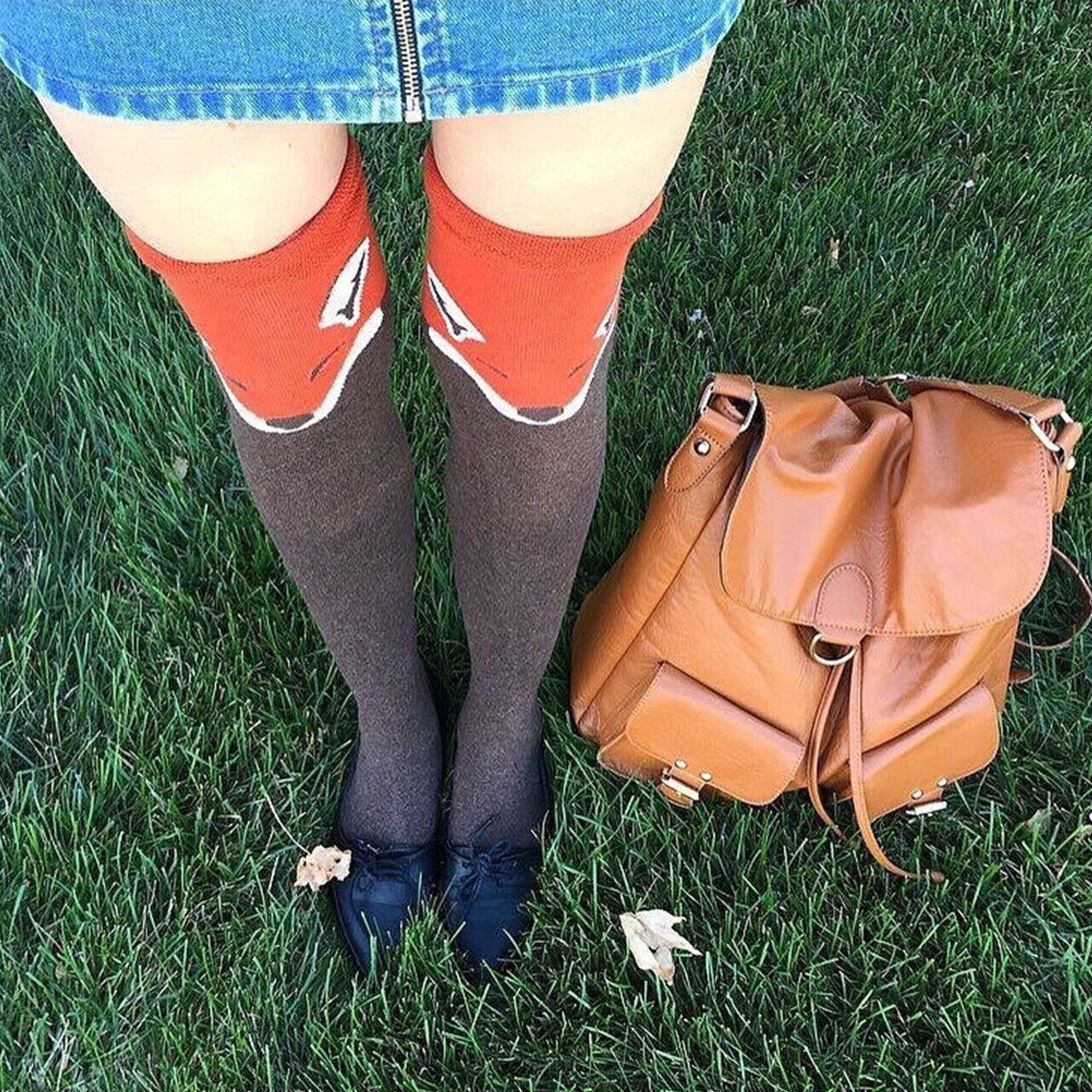 Overknee Strümpfe Überknie Strümpfe Kniestrümpfe Overknee Socks bunte Lang Socke