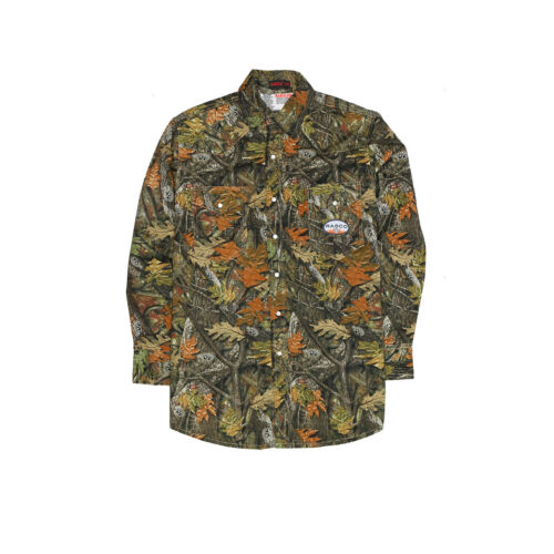 Rasco Fr Flame Resistant Lightweight Western Shirt With Snaps