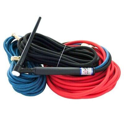 Ck20 Water Cooled Tig Torch Kit 250a 25 3-pc Super-flex Ck20-25sf