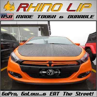 Dodge Dart Universal Fit Front Bumper Rubber Chin Lip Splitter Spoiler Edge Trim