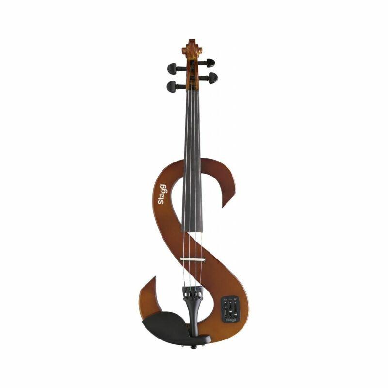 ZOUNDHOUSE Evn 4/4 Zh Vbr 4/4 Silent Violin Set