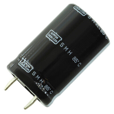 United Chem-con Smh Snap-in Capacitor 12000 Uf 16 Vdc 25mm X 25mm
