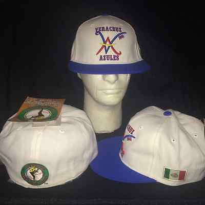 fe440fbb4a9 Latin League VERACRUZ AZULES MEXICO SIZE 7 1 8 Fitted Hat